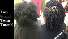How to: Two Strand Twists on 4B/4C Natural Hair