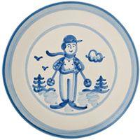 Ready to Ski 9 inch Breakfast Plate