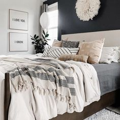 Bedroom Makeover, Home Bedroom, Bedroom Interior, Home Decor, Bedroom Inspirations, Apartment Decor, Modern Bedroom, Bedroom, New Room