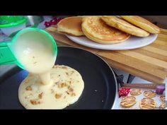 حضريها في 5دقائق 🥞بطعم الذ من المطاعم😋بدون اختمار الذ واسرع فطائر للفطور - YouTube My Favorite Food, Favorite Recipes, Crepes, Sweets, Pancake, Cooking, Breakfast, Youtube, Breads