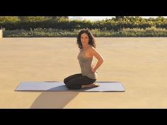 The Yoga Studio with Mandy Ingber: Strengthen Your Back | NET-A-PORTER.COM - YouTube