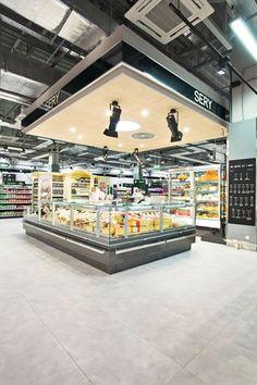 Supermarket Design | Retail Design | Shop Interiors | Alma grocery: