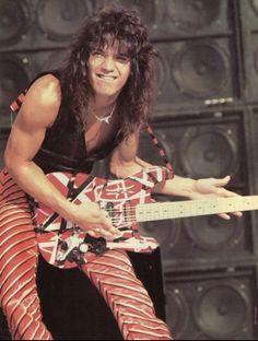 Eddie Van Halen, Alex Van Halen, Rock N Roll, Famous Guitars, David Lee Roth, Rock Legends, Classic Rock, Rock Music, Music Music