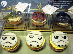 Star Wars Cupcakes | The Regali Kitchen