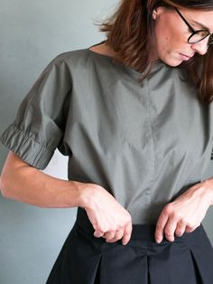Cuff Top by assembly line