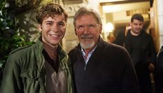 See? even harrison ford agrees anthony should play Han Solo