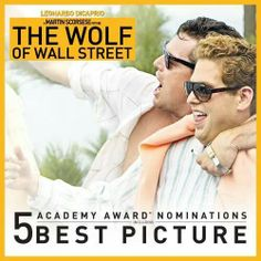 Roadies - We're pleased to share that The Wolf of Wall Street has received 5 Academy Awards for Best Picture, Best Actor (Leonardo DiCaprio), Best Actor in a Supporting Role (Jonah Hill), Best. Oscar Best Picture, Wolf Of Wall Street, Martin Scorsese, Leonardo Dicaprio, Best Actor, Retro, Actors & Actresses, Movie Tv, Cool Pictures