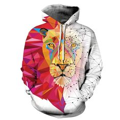 Unisex 3D Novelty Hoodies Feather,Grunge Geometric Gothic,Sweatshirts for Girls