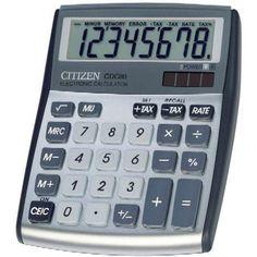 Asztali számológép 8 számjegyes, döntött kijelzővel Citizen CDC-80 - Számológépek Ft Ár 3,290
