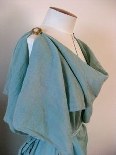 Finished projects – Roman attire (stola and palla)