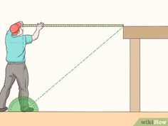 How to Cut Stair Stringers. Stair stringers are the backbone of any set of stairs. In order to cut your stair stringers perfectly, you need to take the time to. Stair Layout, Basement Layout, Deck Steps, Porch Steps, Stair Stringer Calculator, Deck Stair Stringer, How To Make Stairs, Patio Stairs, House Stairs
