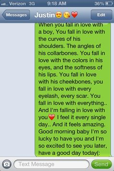Sweet Text For Him In The Morning
