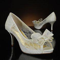 Martinez Valero Ursula Ivory Wedding Shoes