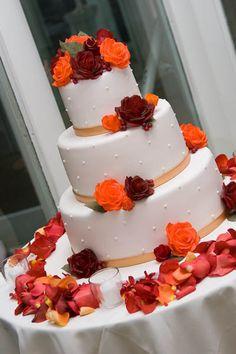 50+ ideas for an orange wedding color palette