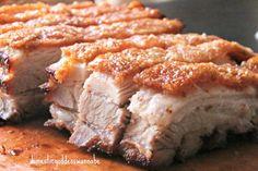Sio Bak | Crispy Roast Pork Belly | 烧肉