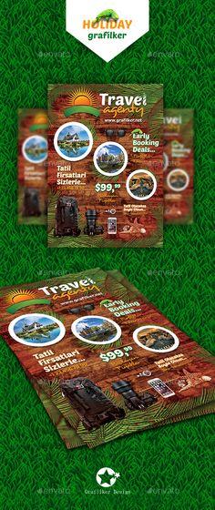 Travel Agenty Flyer Templates - Corporate Flyers