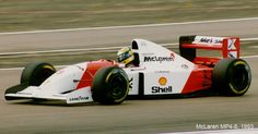 McLaren MP4/8 - Ford