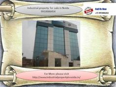 industrial property for sale in noida 9910006454