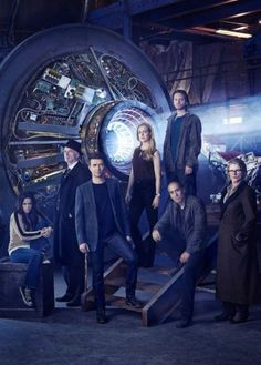 Syfy's 12 Monkeys TV show starring Aaron Stanford and Amanda Schull. The show follows the journey of a time traveler, Cole, from the post-apocalyptic future. Using a dangerous and untested method of time travel, Cole arrives in the present day on a mission to locate and eradicate the source of a deadly plague that will eventually decimate 93.6% of the human race. Will Cole be able to save  the fate of mankind or is mankind bound by fate?