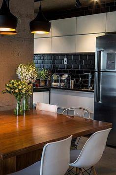 interior modern modern interiors sang trng kitchen decor kitchen design kitchen ideas bar ideas margaritas lofts - Modern Interior Kitchen Design