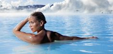 Blue Lagoon in Iceland... that was a relaxing afternoon.