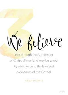 third article of faith