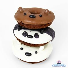 We Bare Bears Donut Stack!