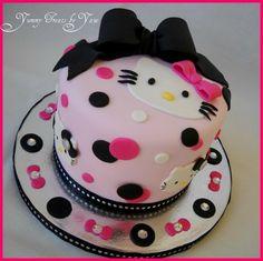 Hello Kitty Cake for Emilys Birthday