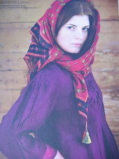 Gudrun Sjoden - headscarf