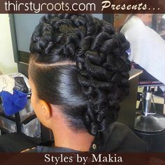 twisted-updo-hair-style - thirstyroots.com: Black Hairstyles