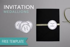 DIY Printable Wedding Medallions photo | The Budget Savvy Bride