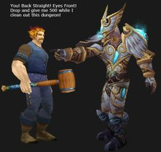 Paladin leveling his buddy, Tips on how to use a buddy to level faster in WoW. http://gotwarcraft.com/get-leveled-faster/
