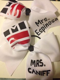 Magcon Cheer Bow by QueenBeeCheerBows on Etsy, $13.00