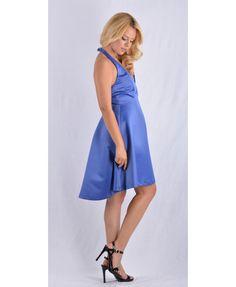 Μπλέ ρουά φόρεμα, με υπέροχη ποιότητα και εξαιρετικό σχέδιο. Εξώπλατο, ασύμμετρο και μίνι που το κάνει σίγουρα μοναδικό για να κάνετε τη διαφορά. Κατασκευασμένο στην Ελλάδα απο 100 % πολυεστέρα. Mini Dresses, Fashion, Moda, Fashion Styles, Fashion Illustrations, Short Dresses
