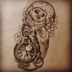 Image result for owls tattoo designs
