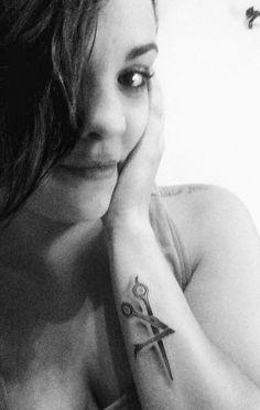 Scissor tattoo #hairlove #sexyscissors