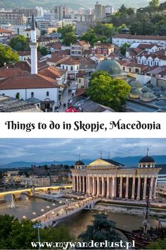 Things to do in Skopje, the kitschy yet cool capital of Macedonia - Relax Car Hire Skopje - Travel North Macedonia Backpacking Europe, Europe Travel Guide, Spain Travel, Travel Destinations, Travel Goals, Travel Advice, Travel Ideas, Europe Holidays, Beautiful Places To Visit