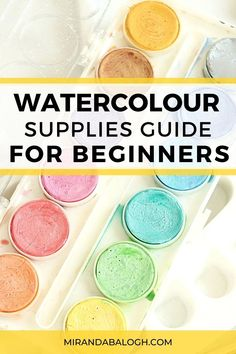 As an artist, you need to learn about the essential watercolour painting supplies that will set you up for success. So click here for a supplies guide to learn about which recommended products are best suited for beginner artists. Find out about the best affordable watercolour supplies including watercolour brushes, watercolour paper, and paint sets. Best of all, these art supplies can be purchased online! Liquid Watercolor, Watercolor Brushes, Easy Watercolor, Watercolour Painting, Watercolor Paintings For Beginners, Acrylic Painting Tutorials, Watercolour Tutorials, Step By Step Watercolor, White Ink