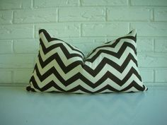 hmmm brown or black chevron with gray walls brown+duck sofas and green dresser?