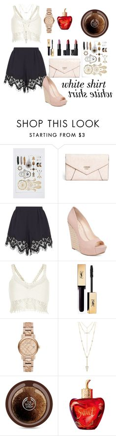 """je m'appelle lolita!!!"" by itsme-yola ❤ liked on Polyvore featuring GUESS, Chloé, Jessica Simpson, River Island, Burberry, House of Harlow 1960, Lolita Lempicka and WardrobeStaples"