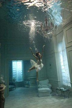 It looks  like  the house is underwater