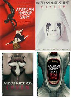 American Horror Story Seasons 1-4 DVD Set
