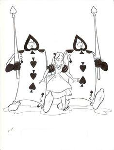 tim burton alice cartoon - Google Search