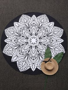 SHARE & Get it FREE | Convertible 3D Print Round Beach Blanket - BlackFor Fashion Lovers only:80,000+ Items • New Arrivals Daily Join Zaful: Get YOUR $50 NOW!