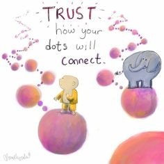 Buddha doodle ~ Trust ❤