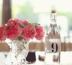 Adorable and functional table numbers