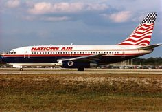 Nations Air Express Boeing 737-200