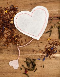 DIY Tutorial – Valentine's Heart Shaped Tea Bags