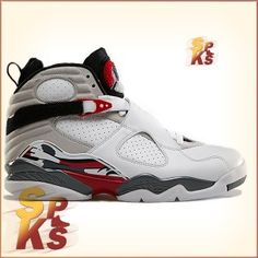 premium selection cad52 d7d40 Air Jordan 8 (VIII) Retro White   Hyper Blue-True Red-Flint 305381-103