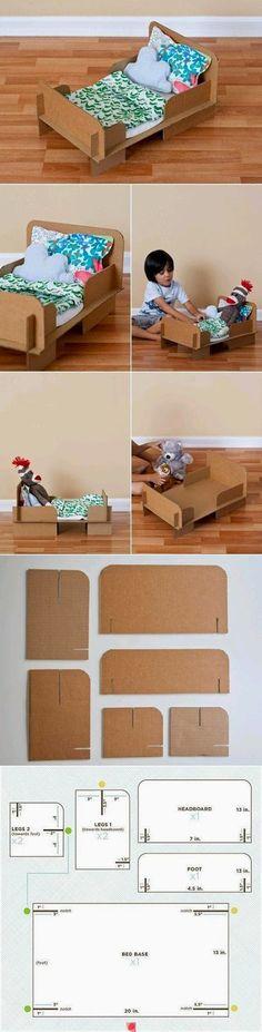 Maternar para sempre: Brinquedos feitos com materiais Reciclados
